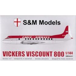 S&M MODELS Vickers Viscount...